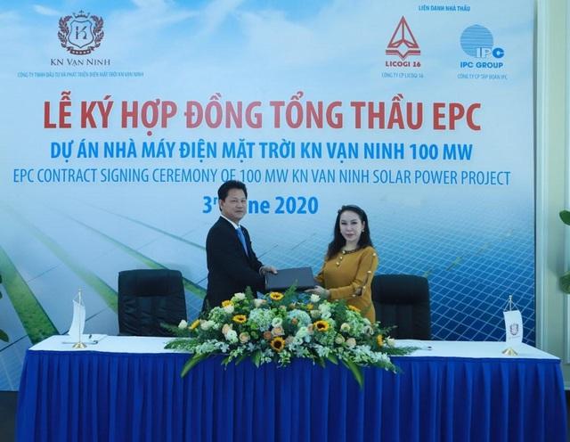 LICOGI 16 (LCG) tiếp tục làm tổng thầu EPC dự án điện mặt trời có mức đầu tư hơn 1.500 tỷ đồng - Ảnh 1.