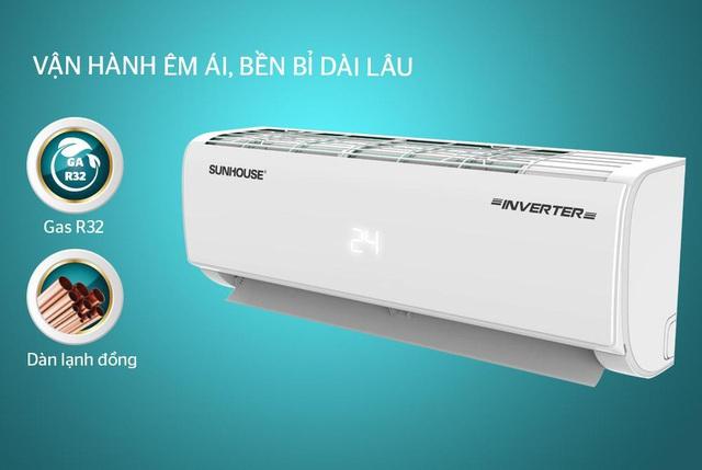 Ngạc nhiên với khả năng làm lạnh sâu và nhanh của máy điều hòa một chiều Inverter của SUNHOUSE - Ảnh 2.