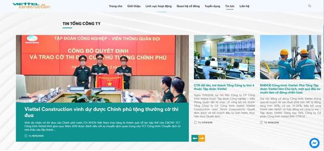 Tổng Công trình Viettel nâng cấp website mới, hiện đại và tối ưu - Ảnh 1.