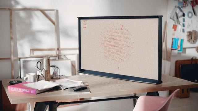 """Chiếc TV """"Đẹp không góc chết này chính là tương lai của nội thất công nghệ - Ảnh 1."""
