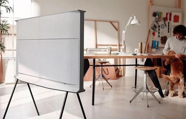 """Chiếc TV """"Đẹp không góc chết này chính là tương lai của nội thất công nghệ - Ảnh 2."""