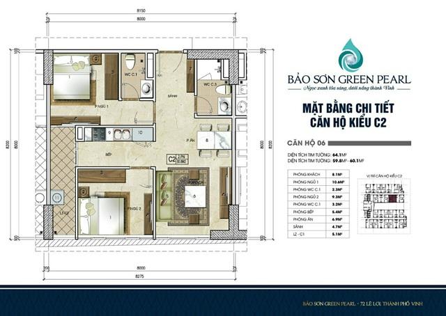 Thiết kế căn hộ tối ưu bậc nhất tại dự án Bảo Sơn Green Pearl Nghệ An - Ảnh 4.