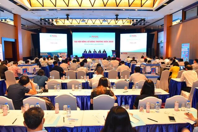 Đại hội đồng cổ đông thường niên 2020: PVOIL nỗ lực vượt khó khăn, giảm thiểu thiệt hại từ đại dịch Covid-19 - Ảnh 1.