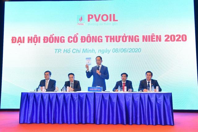 Đại hội đồng cổ đông thường niên 2020: PVOIL nỗ lực vượt khó khăn, giảm thiểu thiệt hại từ đại dịch Covid-19 - Ảnh 2.