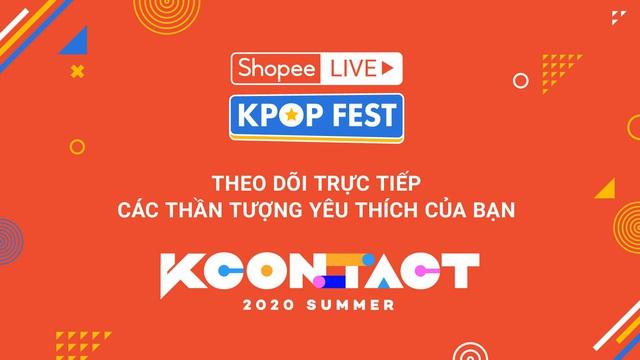 Shopee hợp tác cùng CJ ENM mang đến lễ hội văn hóa Hàn Quốc hàng đầu Thế giới KCON - Ảnh 1.