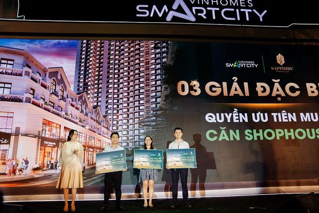 Tiết lộ lý do bùng nổ giao dịch tại sự kiện mở bán căn hộ Vinhomes Smart City - Ảnh 1.