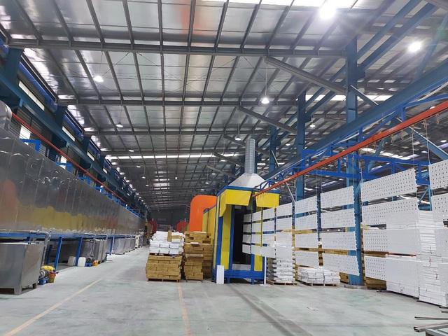 Khẳng định năng lực sản xuất: Vinatech Group chinh phục thị trường giá kệ Việt Nam - Ảnh 1.