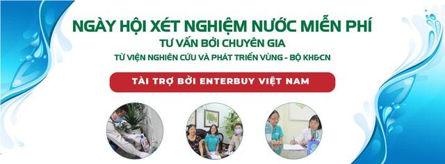 Ngày hội xét nghiệm nước miễn phí của Enetrbuy Việt Nam - đơn vị bán máy lọc nước uy tín Hà Nội - Ảnh 3.