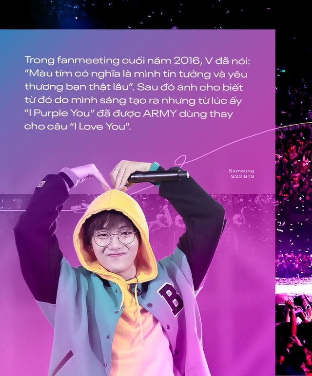 I Purple You - từ câu nói nổi tiếng dành riêng cho ARMY đến màu tím chỉ biểu trưng cho BTS - ảnh 1