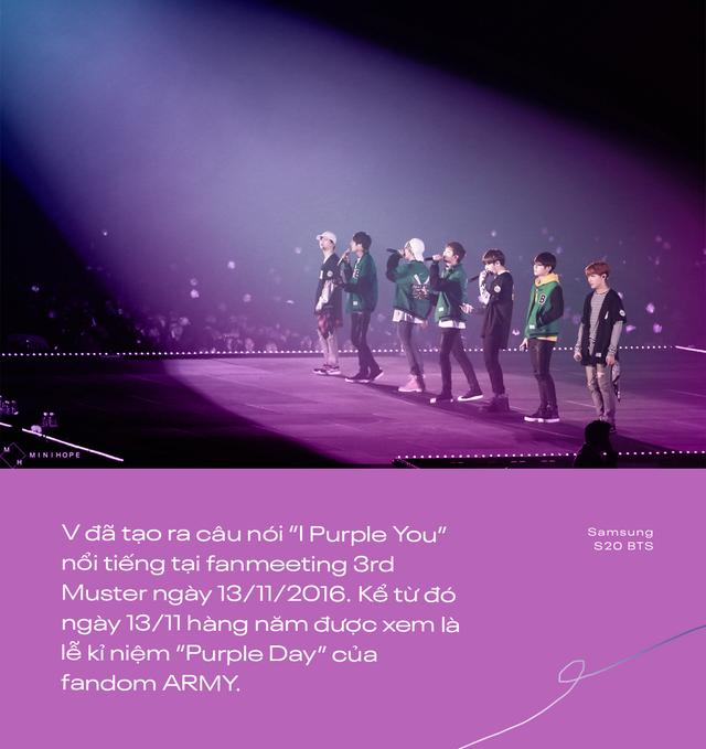 I Purple You - từ câu nói nổi tiếng dành riêng cho ARMY đến màu tím chỉ biểu trưng cho BTS - ảnh 2