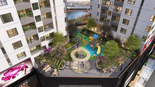 Thả sức sáng tạo với không gian căn hộ không cột lên tới 150m2 tại Hà Nội - Ảnh 1.