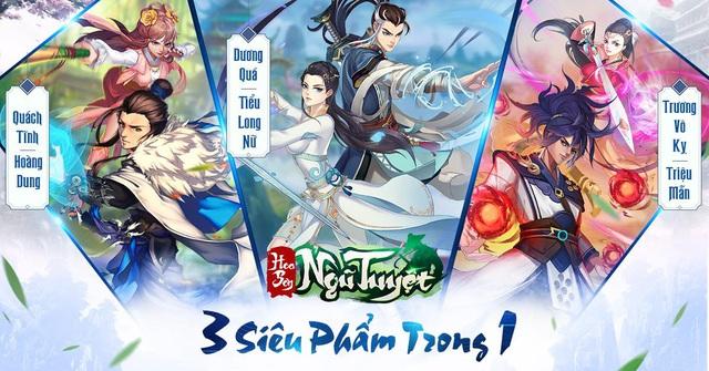 Hoa Sơn Ngũ Tuyệt - Game chiến thuật chuẩn nguyên tác kiếm hiệp Kim Dung chính thức ra mắt - Ảnh 2.
