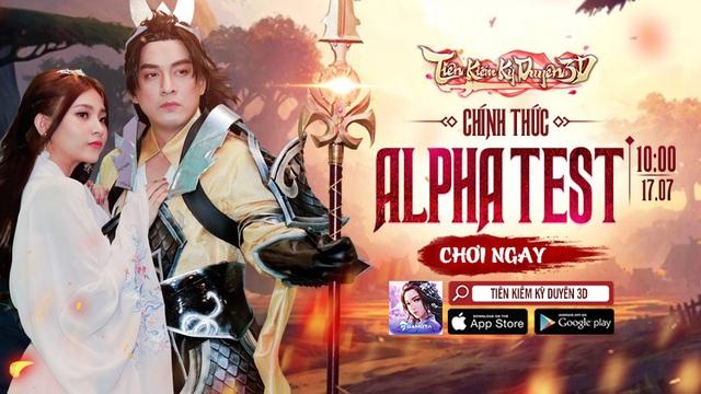 Tiên Kiếm Kỳ Duyên 3D ấn định Alpha Test 17/07, anh Hai Lam Trường chính thức trở thành Đại sứ hình ảnh - Ảnh 2.