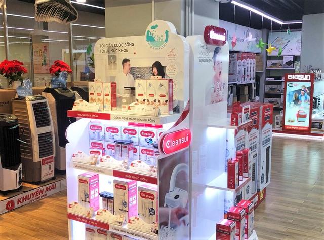 """Thương hiệu lọc nước hàng đầu Nhật Bản """"phủ sóng"""" thị trường Việt - Ảnh 1."""