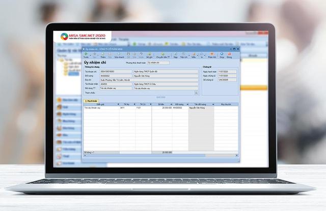 Phần mềm kế toán kết nối ngân hàng tiết kiệm 80% thời gian giao dịch cho kế toán - Ảnh 1.