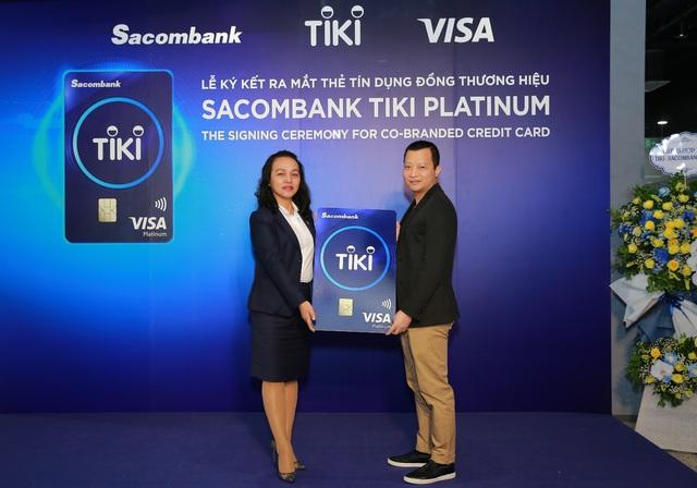 Thẻ tín dụng liên kết giữa Tiki và Sacombank bây giờ ra sao sau gần 2 tháng ra mắt? - Ảnh 1.