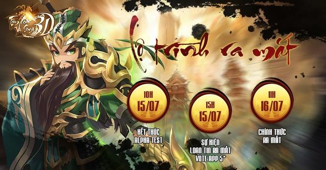 NPH VNTac chính thức công bố mở Open Beta tựa game Tam Quốc Vô Song 3D vào 10h ngày 16/07 này - Ảnh 1.