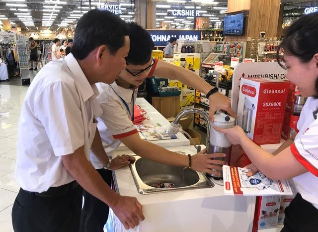 """Thương hiệu lọc nước hàng đầu Nhật Bản """"phủ sóng"""" thị trường Việt - Ảnh 2."""