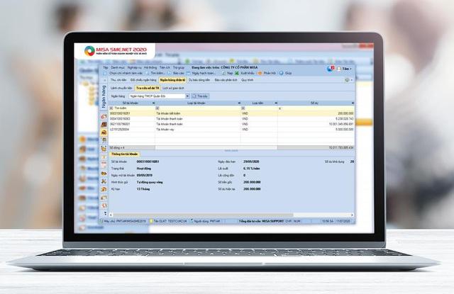 Phần mềm kế toán kết nối ngân hàng tiết kiệm 80% thời gian giao dịch cho kế toán - Ảnh 2.