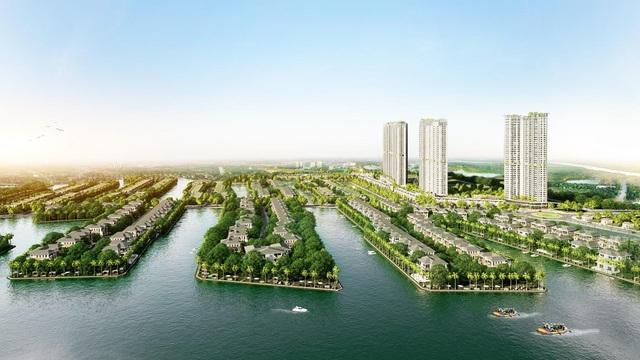 Ecopark triển khai phân khu nghỉ dưỡng tiên phong trong lòng khu đô thị - Ảnh 1.
