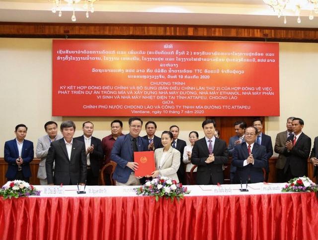 TTC Sugar tiếp tục mở rộng vùng nguyên liệu trồng mía organic tại Attapeu, Lào - Ảnh 1.