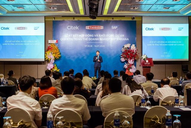 CITEK và THIBIDI ký kết hợp đồng chuyển đổi số với giải pháp quản trị tổng thể doanh nghiệp (SAP S/4HANA) - Ảnh 1.