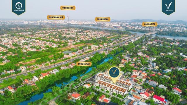 Khải Tín DN chính thức phân phối KDC Vạn Xuân - TP Huế - Ảnh 2.