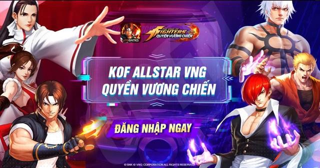 Dàn KOL nổi tiếng đổ bộ vào KOF AllStar VNG - Quyền Vương Chiến trước sức hút khó cưỡng - Ảnh 1.