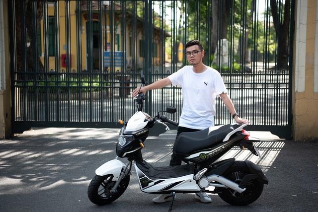 VinFast Impes – Xe máy điện gây 'nghiện' cho giới trẻ - Ảnh 5.