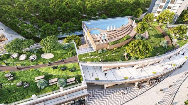 Triển khai vườn thượng uyển trên cao dài 300m tại Ecopark - Ảnh 3.