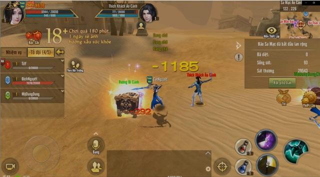 Tân Thiên Long Mobile - một trong những tựa game nhập vai kiếm hiệp có cơ chế sinh tồn liên server - Ảnh 4.
