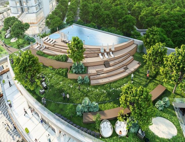 Triển khai vườn thượng uyển trên cao dài 300m tại Ecopark - Ảnh 4.