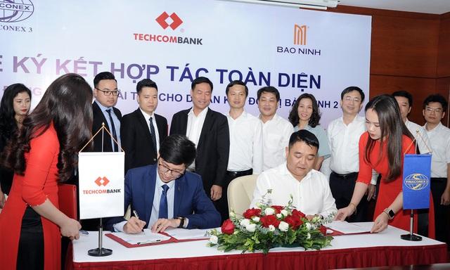 Ký hợp tác toàn diện với Techcombank, Vinaconex 3 mở đường cho những dự án mới nghìn tỷ - Ảnh 1.