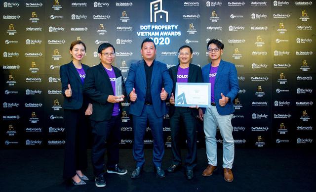 Houze Group nhận giải thưởng đổi mới sáng tạo 2020 trong lĩnh vực bất động sản - Ảnh 1.