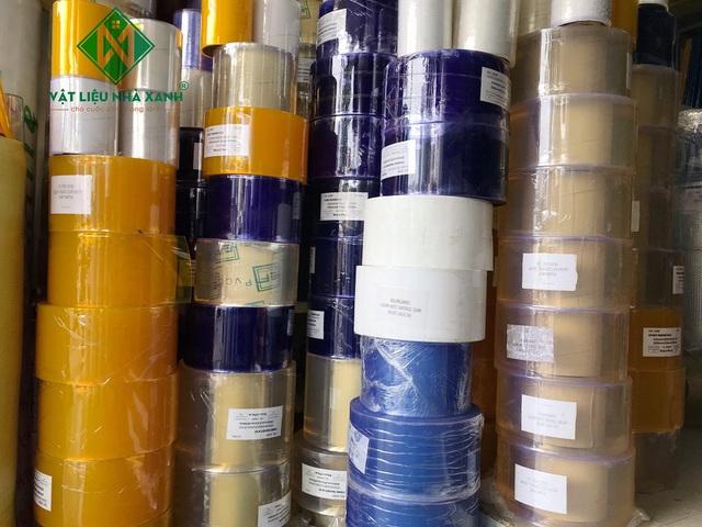 Vật liệu Nhà Xanh – Đơn vị cung cấp rèm nhựa PVC hàng đầu tại Hồ Chí Minh - Ảnh 1.