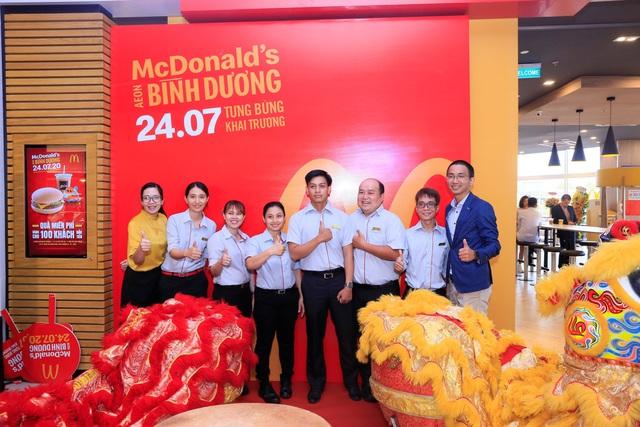 McDonald's khai trương nhà hàng mới tại Aeon Mall Bình Dương - Ảnh 4.