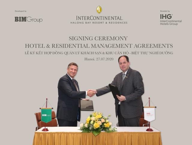 BIM Group bắt tay IHG phát triển dự án nghỉ dưỡng ven biển cao cấp ở Hạ Long - Ảnh 1.