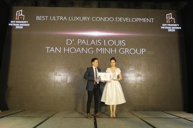 Tân Hoàng Minh lập cú hattrick giải thưởng lớn tại Dot Property Vietnam Awards 2020 - Ảnh 1.