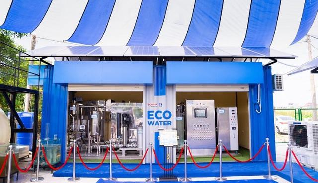 Tập đoàn Sơn Hà bắt đầu thử nghiệm công nghệ xử lý nước thải có thể làm sạch nước sông Tô Lịch - Ảnh 1.