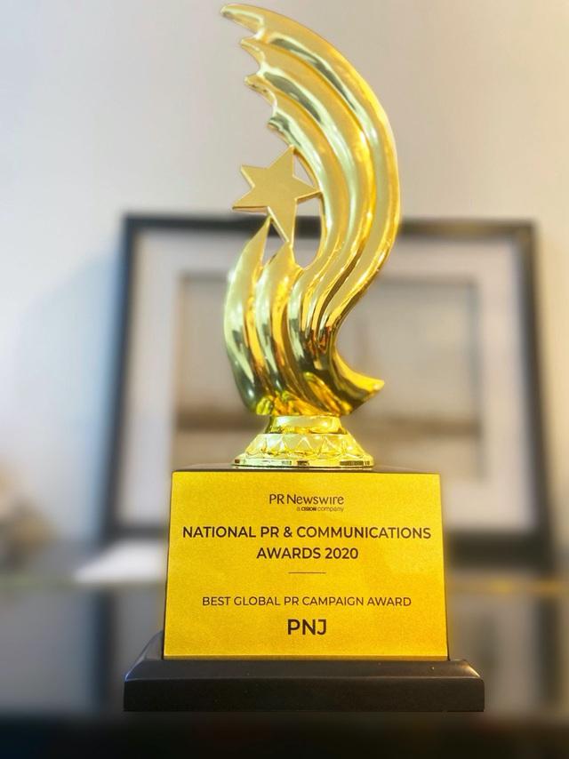 PNJ nhận giải thưởng chiến dịch pr toàn cầu xuất sắc nhất do PR Newswire bình chọn - Ảnh 3.