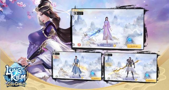 Long Kiếm Cửu Châu - tung link tải cho phép người chơi trải nghiệm phiên bản Alpha Test - Ảnh 5.