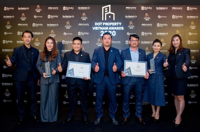 """DKRA Vietnam bứt phá với """"cú đúp"""" giải thưởng Dot Property Vietnam Awards 2020 - Ảnh 1."""