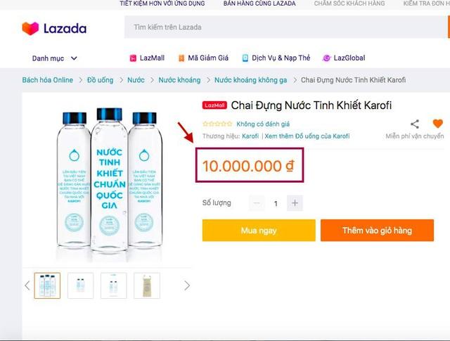 Chai nước giá 10 triệu và chiến lược truyền thông gây chú ý - Ảnh 1.