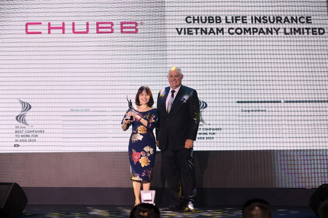 """Chubb Life Việt Nam được vinh danh là một trong những """"Nơi làm việc tốt nhất Châu Á năm 2020"""" - Ảnh 2."""