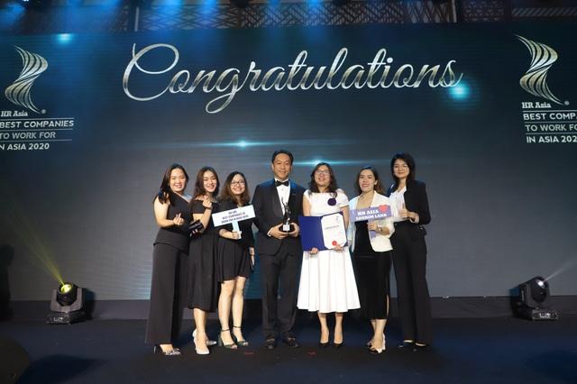 """SonKim Land đạt giải thưởng Top """"Môi trường làm việc tốt nhất Châu Á 2020"""" - Ảnh 1."""