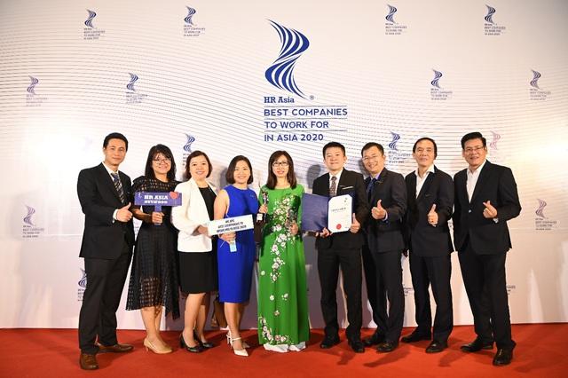 NutiFood được bình chọn Top Doanh nghiệp có môi trường làm việc tốt nhất Châu Á 2020 - Ảnh 1.