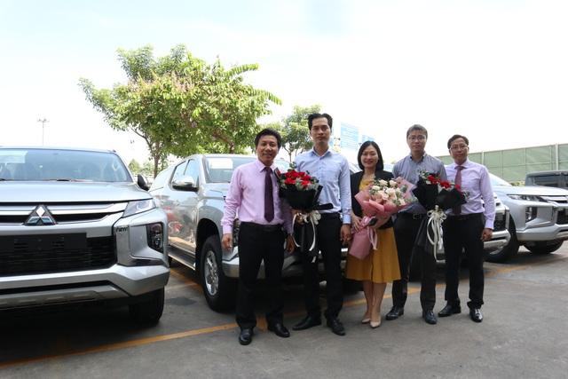 Đại Lý Mitsubishi Satsco bàn giao 14 xe chở tiền cho Ngân hàng TMCP Sài Gòn - Ảnh 2.