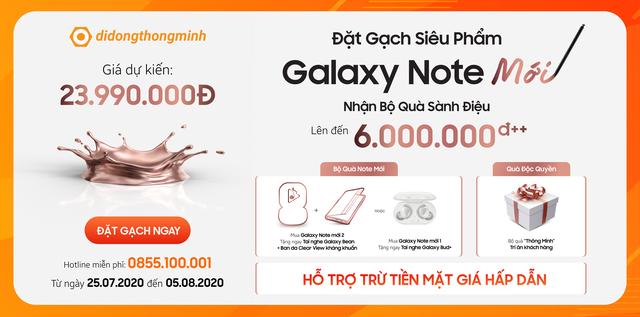 Nhận bộ quà 12 triệu - Không đủ tiền vẫn mua ngay Galaxy Note20 Series - Ảnh 1.