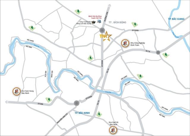 TNR Stars Bích Động giới thiệu 46 căn shophouse đẳng cấp tại thị trường Bắc Giang - Ảnh 1.