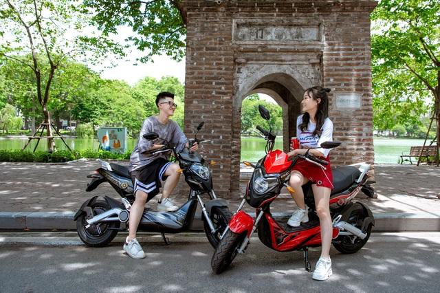 Lựa chọn xe máy điện an toàn, tiết kiệm cho học sinh - Ảnh 3.